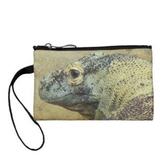 コモドオオトカゲの硬貨の財布 コインパース