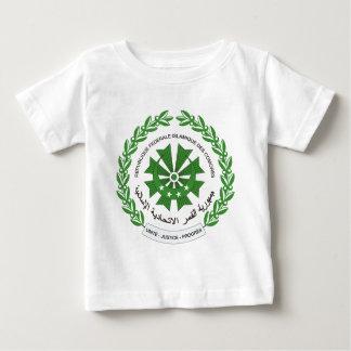 コモロのシール ベビーTシャツ