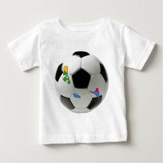 コモロの全国代表チーム ベビーTシャツ