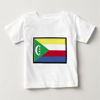 コモロの旗 ベビーTシャツ