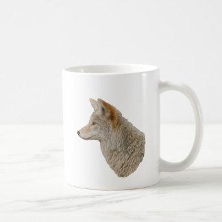 コヨーテのプロフィール コーヒーマグカップ