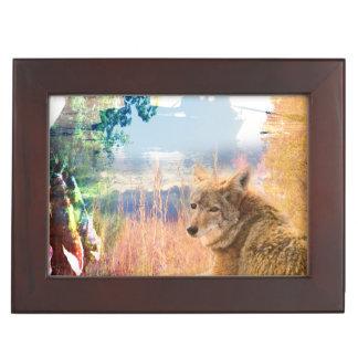 コヨーテは北アメリカ公園の屋外犬を美化します アクセサリーケース