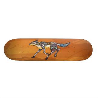 コヨーテぺてん師のスケートボード 21.6CM オールドスクールスケートボードデッキ