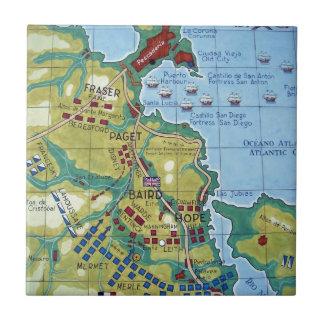 コラナの戦いの地図 タイル