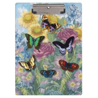 """コラージュの""""美しい蝶""""クリップボード クリップボード"""
