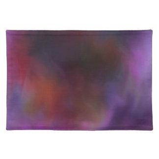 コラージュまたはキルトのCloudscape Dkの織物 ランチョンマット