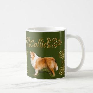 コリーの優雅 コーヒーマグカップ