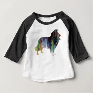 コリーの芸術 ベビーTシャツ