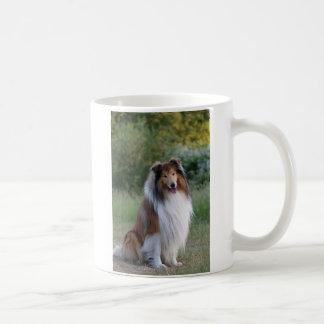 コリーの荒い犬の美しい写真のコーヒー、茶マグ コーヒーマグカップ