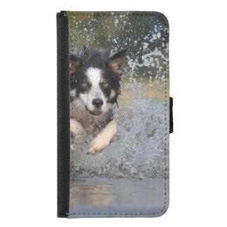 コリー犬 GALAXY S5 ウォレットケース