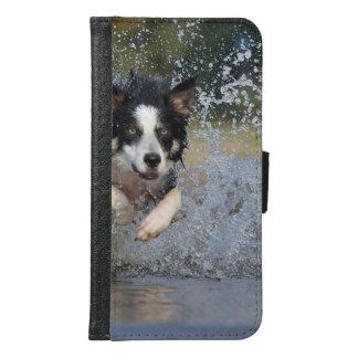 コリー犬 GALAXY S6 ウォレットケース
