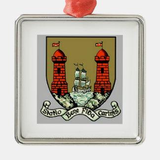 コルクアイルランドのための紋章付き外衣 メタルオーナメント