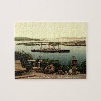 コルク、アイルランドのジグソーパズル、Queenstown港 ジグソーパズル