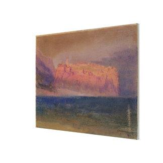 コルシカ、(モナコか。) c.1830-35 (w/c包装紙で) キャンバスプリント