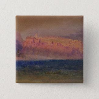 コルシカ、(モナコか。) c.1830-35 (w/c包装紙で) 5.1cm 正方形バッジ