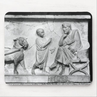 コルネリウスの石棺からの詳細 マウスパッド