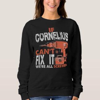 コルネリウスのTシャツがあること誇りを持った スウェットシャツ