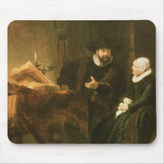 コルネリウスAnsloおよび彼の妻1641年のポートレート(oi マウスパッド