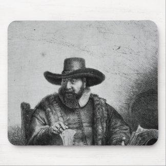 コルネリウスClaesz Anslo 1640年 マウスパッド