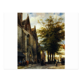 コルネリスのスプリンガーによるHamelenのSt. Josephs教会 ポストカード