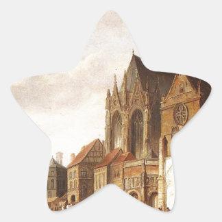 コルネリスのスプリンガーによるMontelspranの眺め 星シール