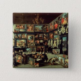 コルネリスvan der Geestのギャラリー 5.1cm 正方形バッジ