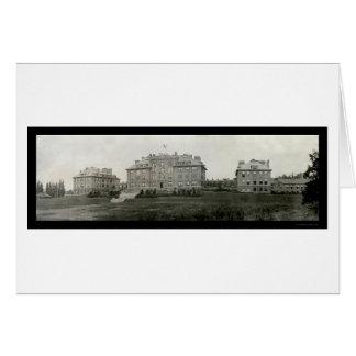 コルネルの建物のIthacaの写真1909年 カード