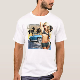 コルベットのクラシックな美しい Tシャツ