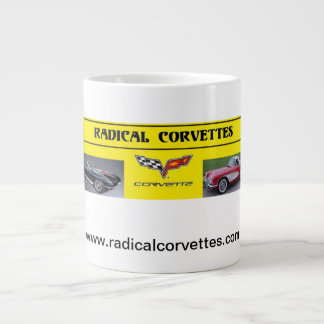 コルベットの根本的なマグ ジャンボコーヒーマグカップ