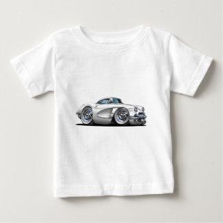 コルベットの白車 ベビーTシャツ