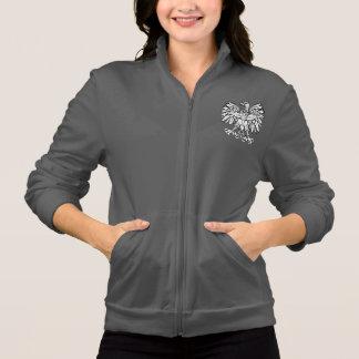 コレクションポーランドのフリースのジャケットの紋章付き外衣