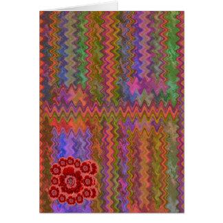 コレクターの版-輝き赤いnのピンクのバラ カード