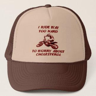 コレステロールの土のバイクのモトクロスの帽子の帽子 キャップ