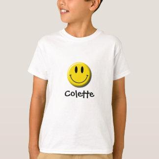 コレットのスマイリーフェイスのワイシャツ Tシャツ