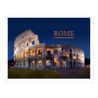 コロシアムのローマの郵便はがき ポストカード