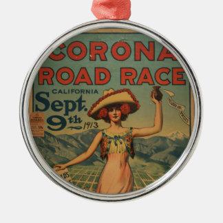 コロナのロードレース- 1913年 メタルオーナメント