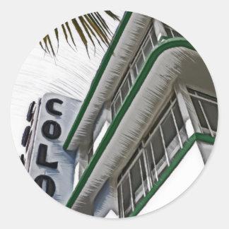 コロニーのホテル、マイアミ ラウンドシール