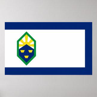 コロラドスプリングスの旗 ポスター