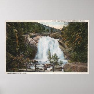 コロラドスプリングス、ヘレン・ハントの共同滝 ポスター