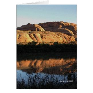 コロラド川カードのCanyonlands カード