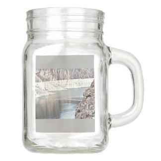 コロラド川@フーバー・ダムのメーソンジャー メイソンジャー