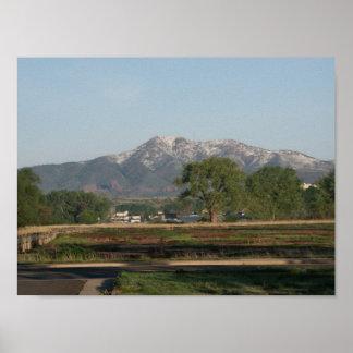 コロラド州のふもとの小丘 ポスター