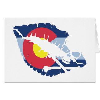 コロラド州のキス カード