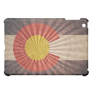 コロラド州のクールでグランジな旗 iPad MINIケース