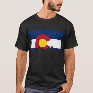 コロラド州のスカイライン Tシャツ