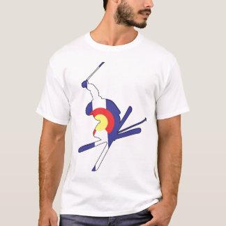 コロラド州のスキーヤー Tシャツ