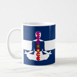 コロラド州のチャクラの黙想の店 コーヒーマグカップ