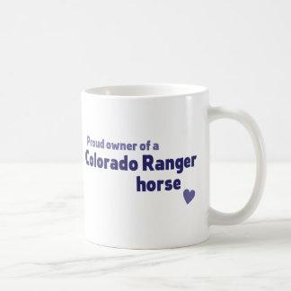 コロラド州のレーンジャーの馬 コーヒーマグカップ