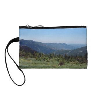 コロラド州のロッキー山脈のパノラマ コインパース