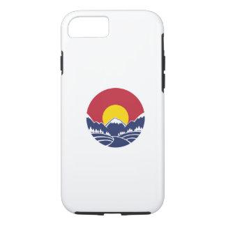 コロラド州のロッキー山脈の紋章 iPhone 8/7ケース